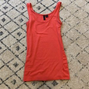 Cynthia Rowley Basic Tank Top in Coral *Like New!*